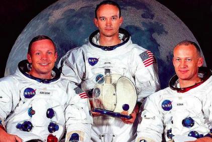 3 astronot yang pertama mendarat di Bulan